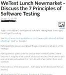 """7 Testing Principles"" – Meetuptakeaways"